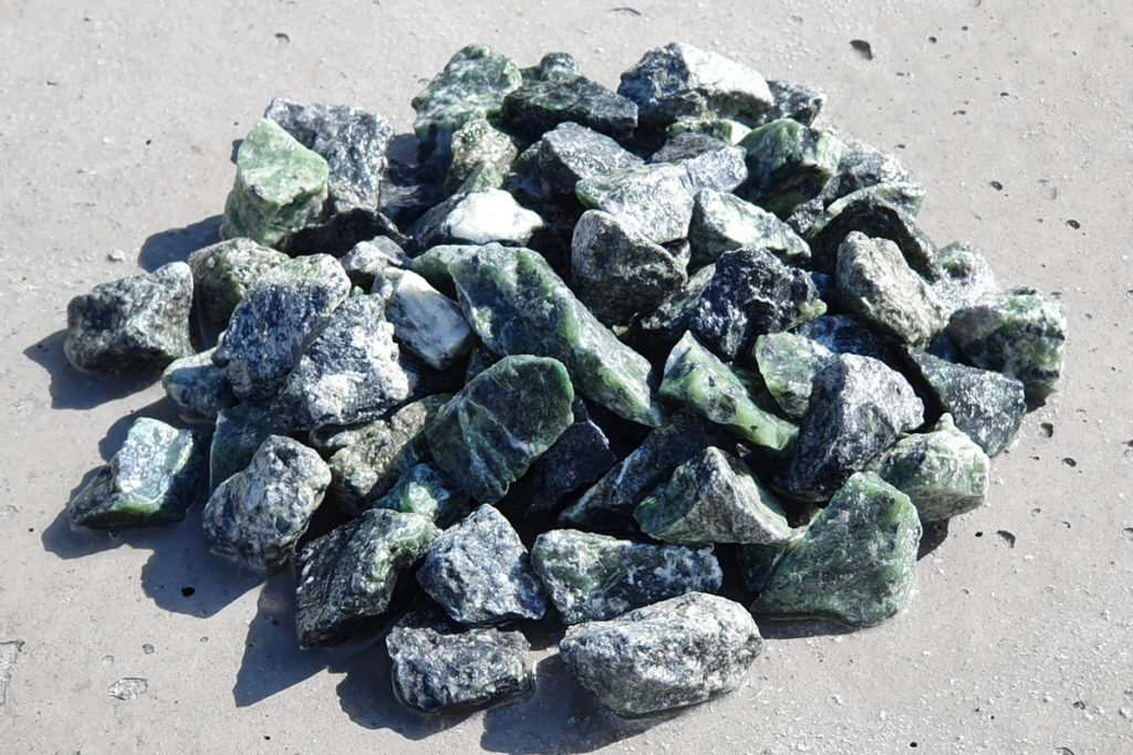 Grys Green Gravel 16-22-mm