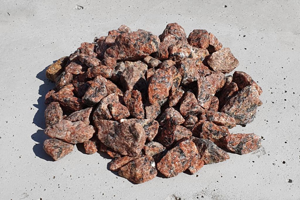 Grys Vanga granitowy czerwony 8-16 mm